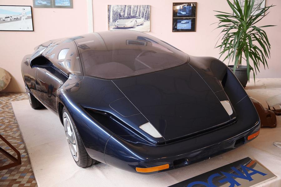 Концепт Art & Tech Sogna образца 1991 года с двигателем Lamborghini Countach