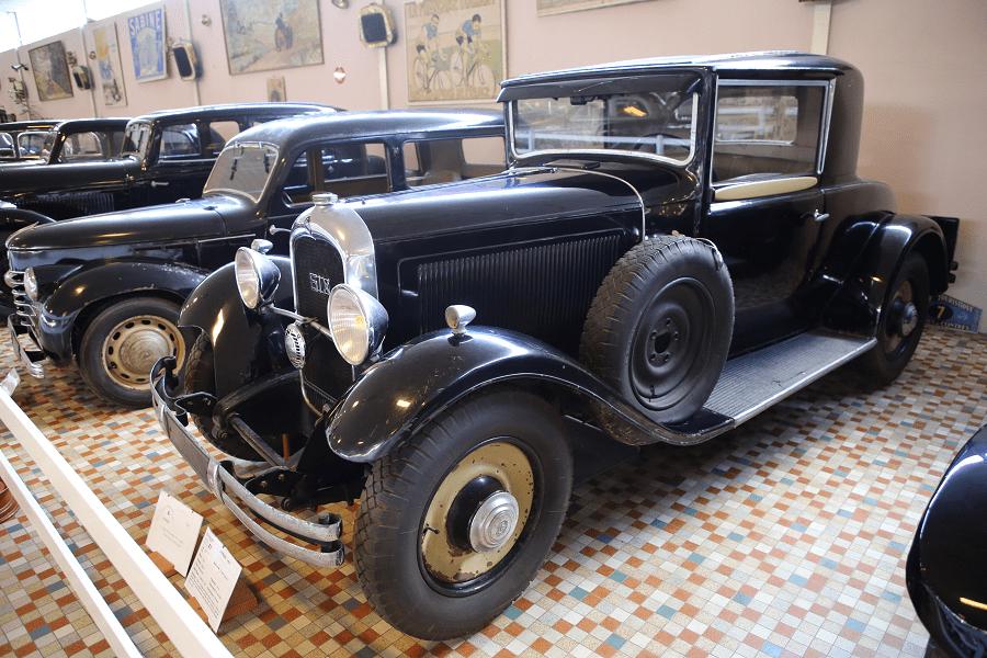 Черный Citroën Type 6 CF Spider образца 1931 года