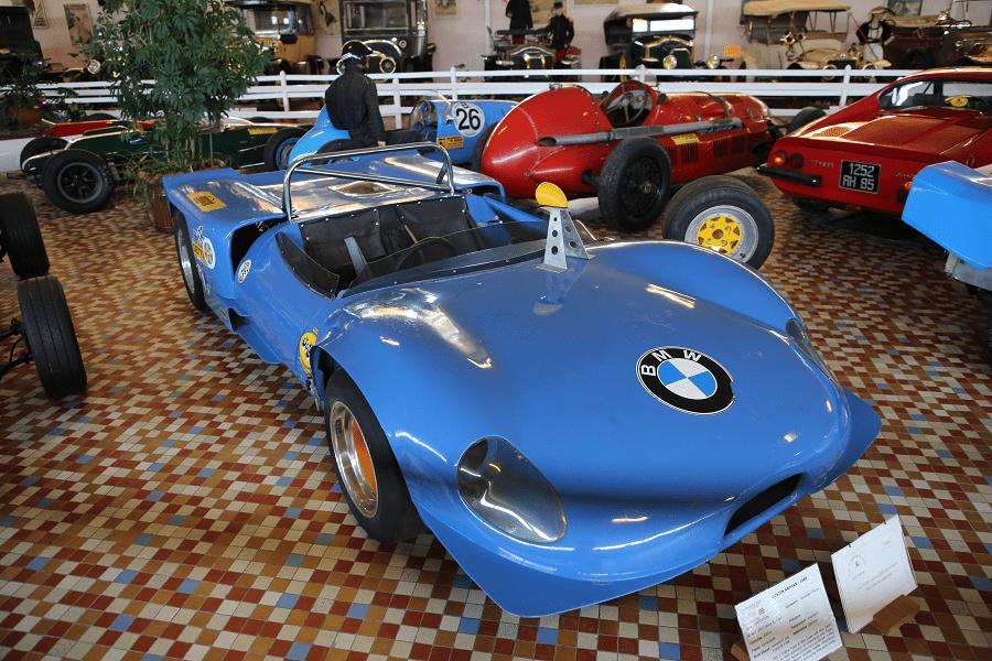 Прототип Costin Nathan образца 1968 года с двигателем BMW Alpina