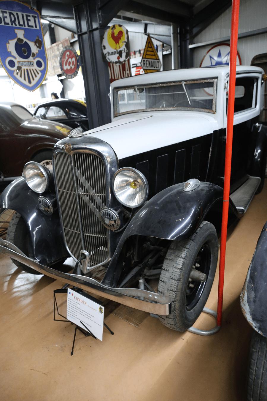 Citroën 10 AL Coach образца 1933 года с четырьмя цилиндрами