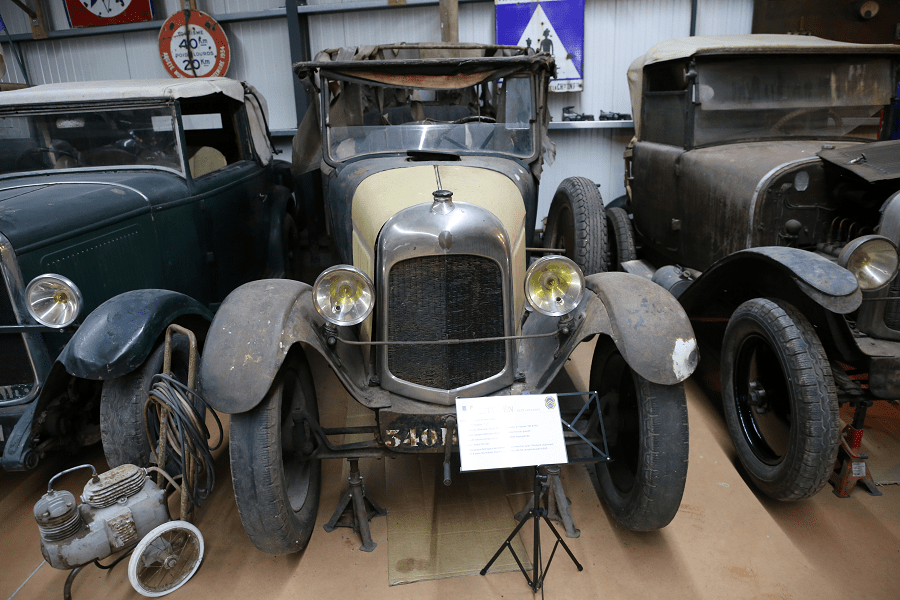 Citroën B10 Torpedo образца 1925 года с четырьмя цилиндрами