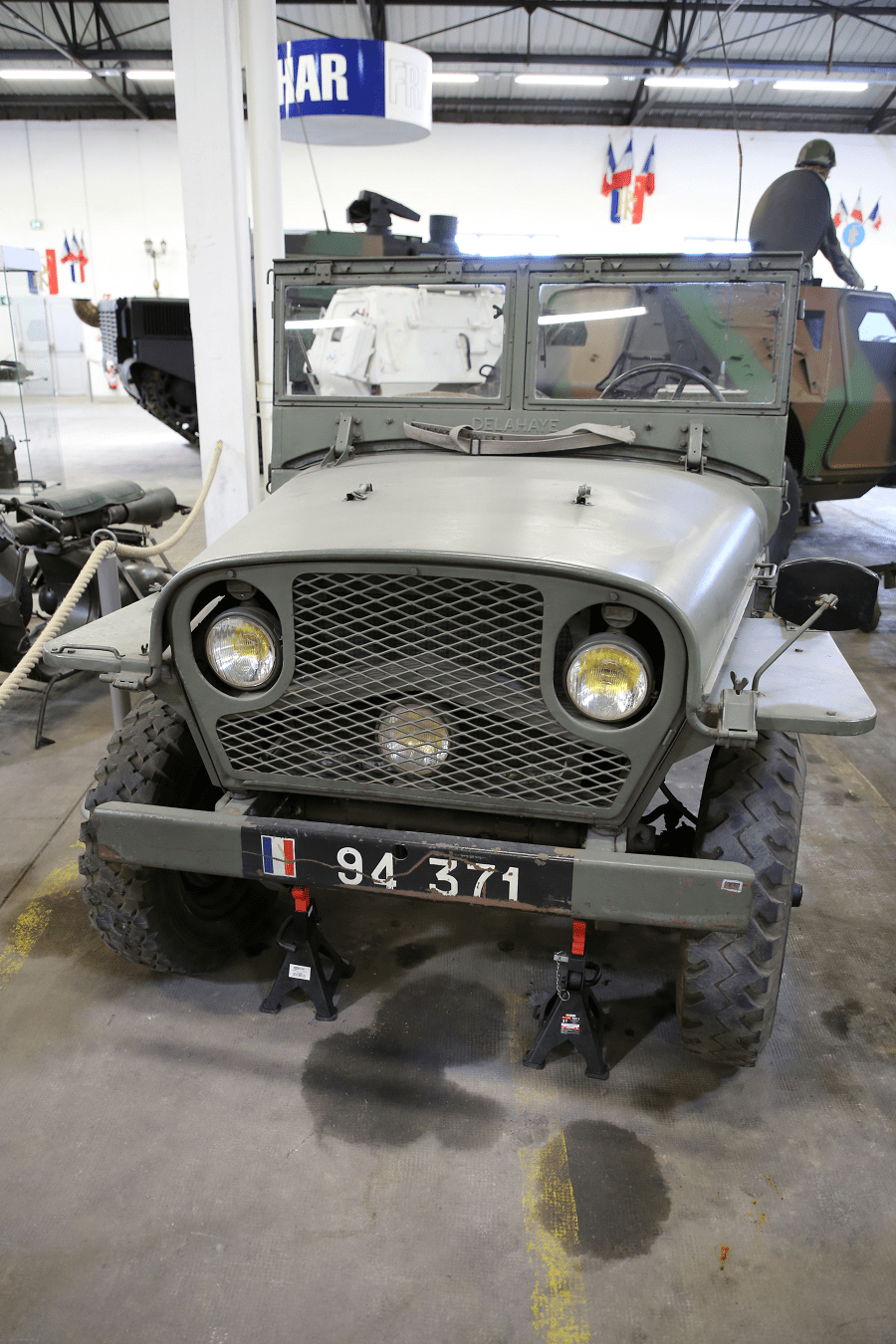 Delahaye VLR - французский армейский джип (модель 1951)