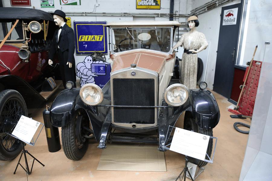 Fiat 520 Cabriolet Spider образца 1928 года