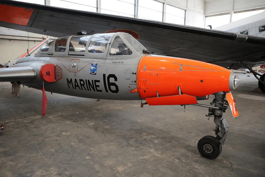 Fouga CM.175 Zéphyr - французский двухместный учебный самолет 1950-х годов