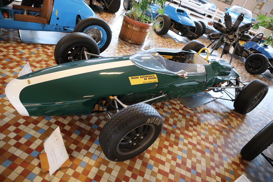 Зеленая Lola FJ образца 1963 года