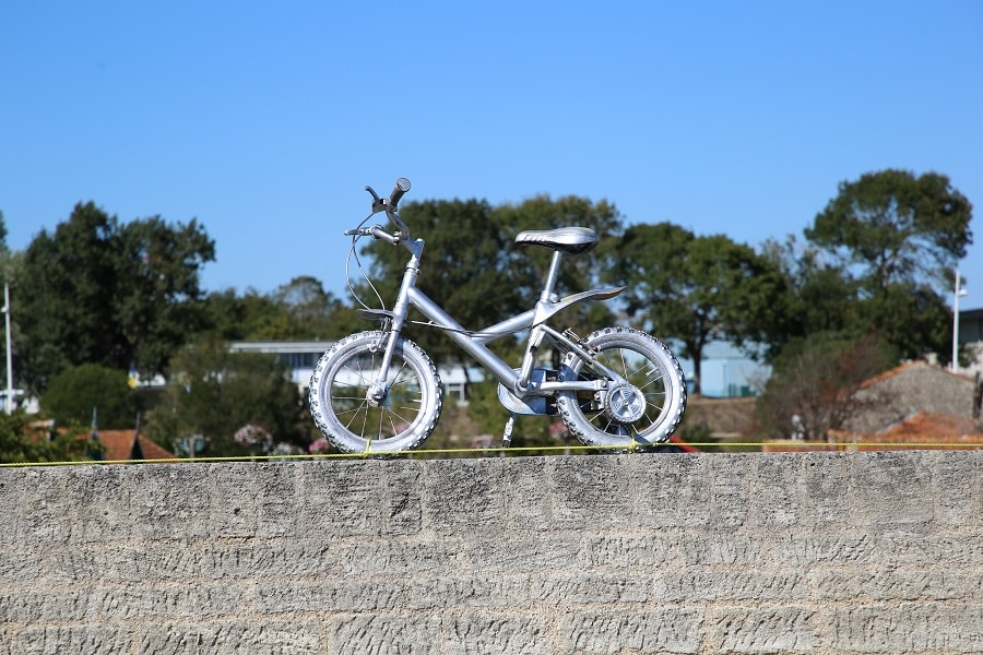 Tour de France 10 (2020). Bicycles installations. views