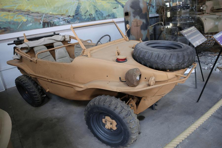 Kfz.1/20 K2s Schwimmwagen (Германия) - личный разведывательный автомобиль