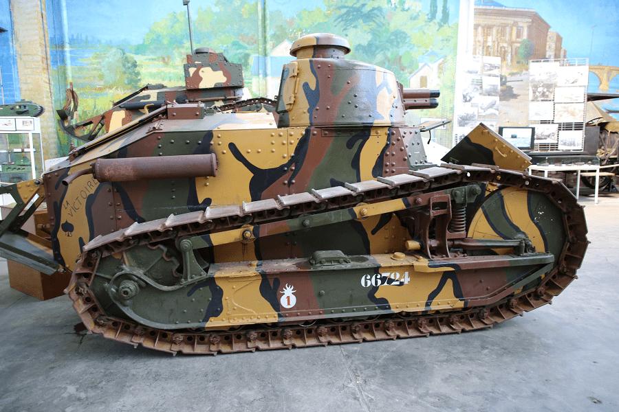 Renault FT - французский легкий танк Первой Мировой Войны