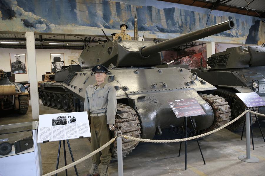 M10 - самый массовый истребитель танков США времен Второй Мировой войны