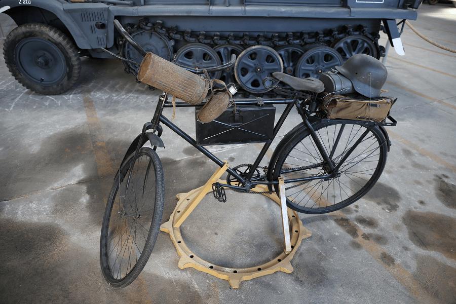 Основной велосипед Hercules немецкой армии времен Второй мировой войны