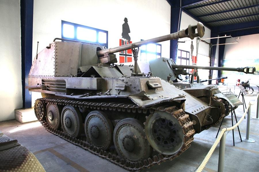 Немецкий истребитель танков Marder 38H (Sd. Kfz. 138) 1942 года