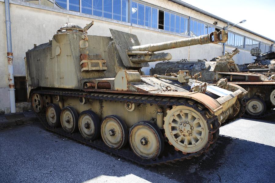 Французская 105-мм самоходная гаубица Mk 61 - САУ