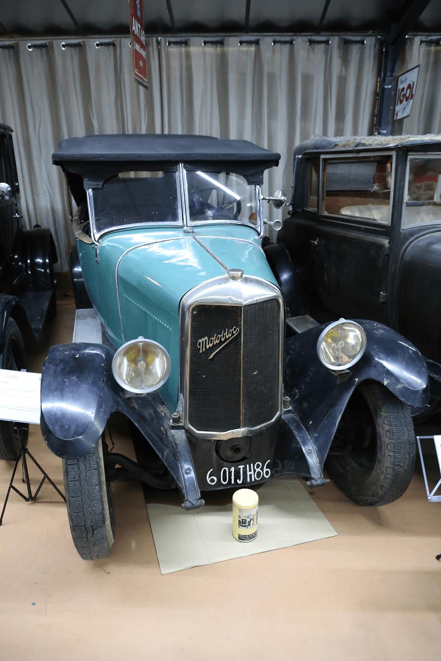 Французский Motobloc S2 Torpedo образца 1924 года
