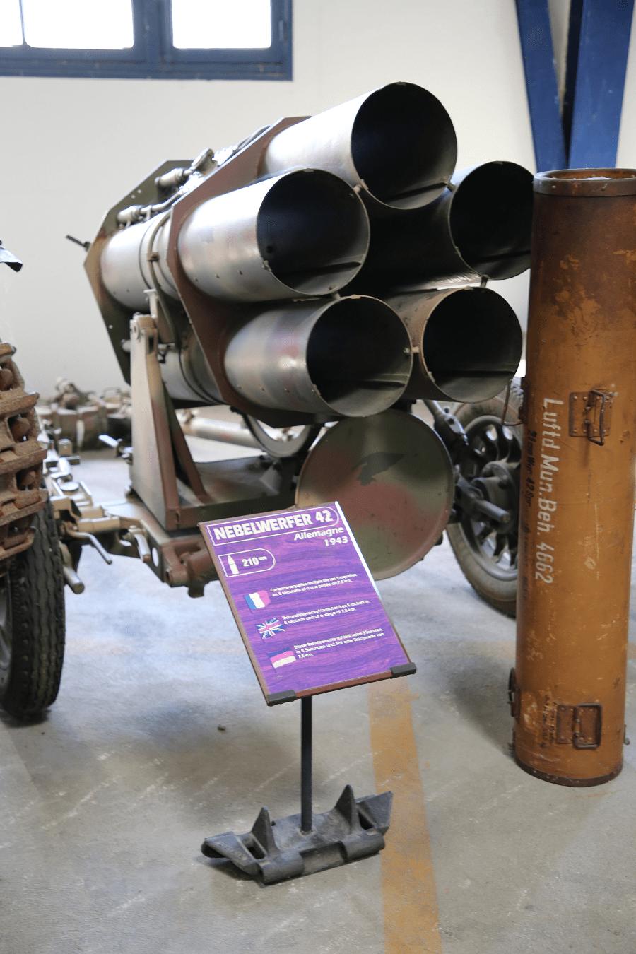 Nebelwerfer 41 - немецкий дымовой миномет Второй Мировой Войны