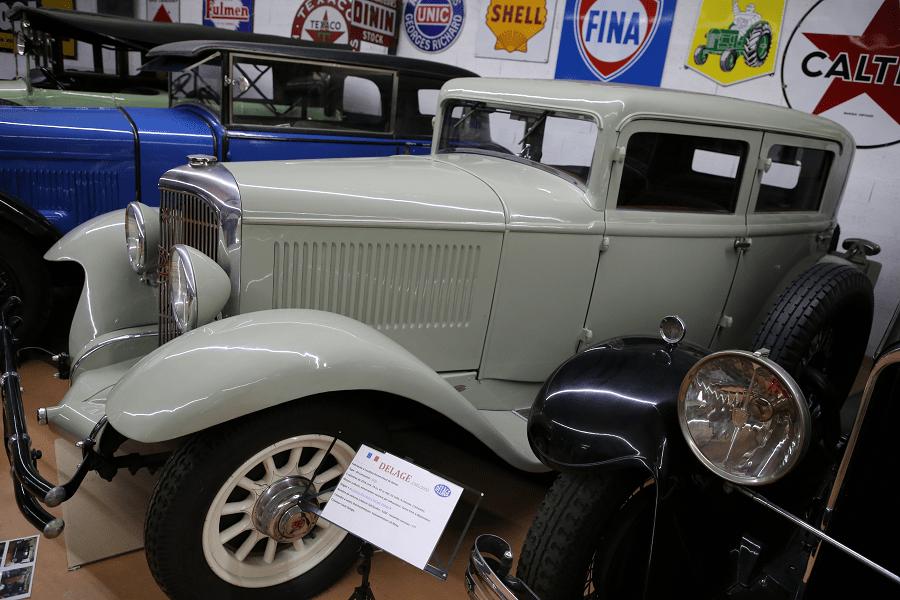 Французский Panhard & Levassor CS X 68 Berline образца 1930 года