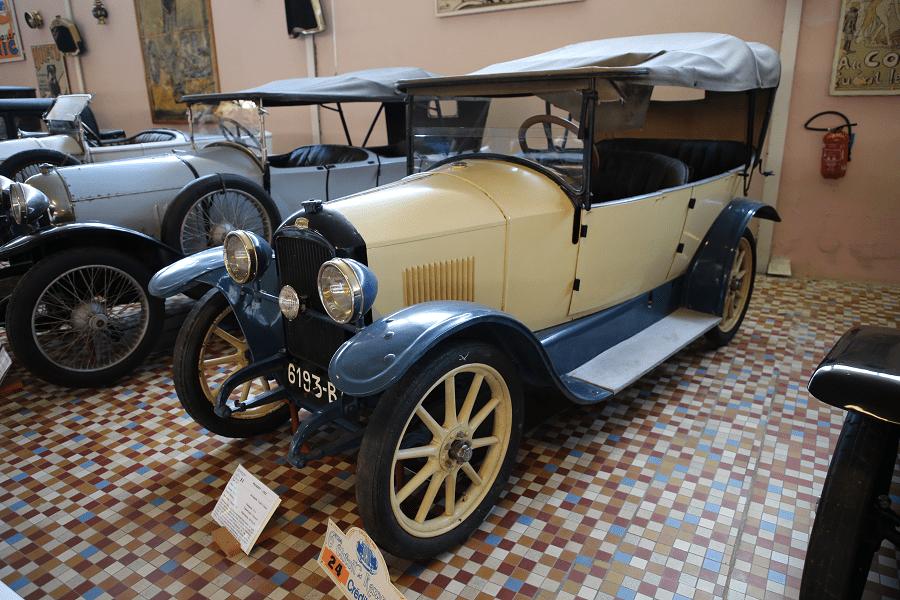 Peugeot Type 163 образца 1922 года