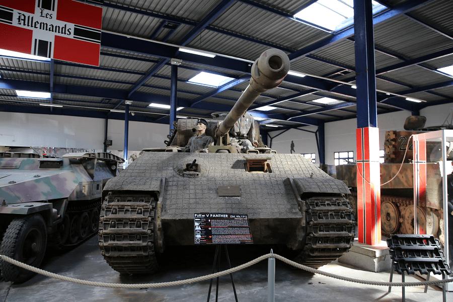 PzKw Panther (Sd. Kfz 171) Пантера - немецкий средний танк Второй мировой войны