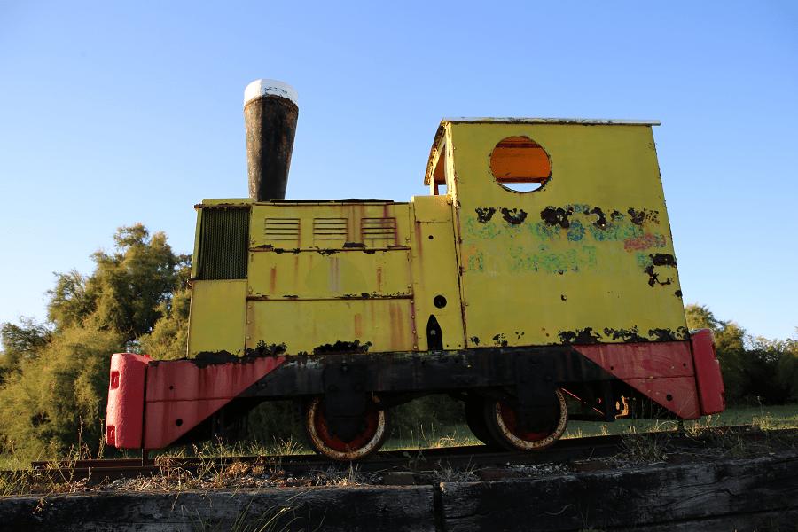 Ruston & Hornsby дизельный локомотив (40 л.с.)