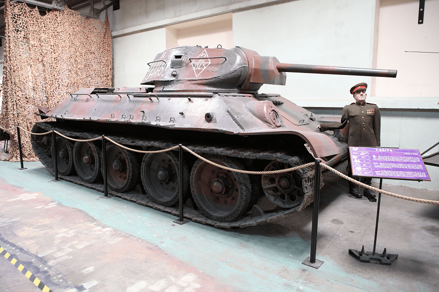 T-34/76 - модель 1940 года