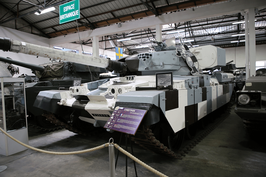 FV4201 Chieftain - основной боевой танк Великобритании на протяжении 30 лет