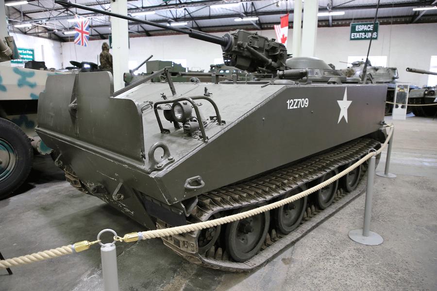 Cadillac M114 - гусеничная боевая бронированная машина времен войны во Вьетнаме