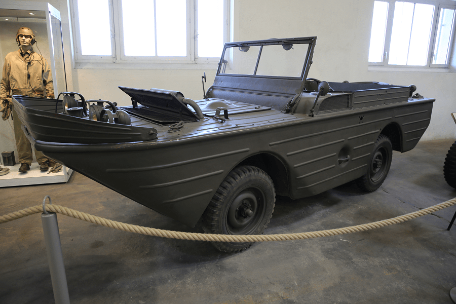 Амфибия Ford GPA 'Seep' времен Второй Мировой войны (модель 1942 года)