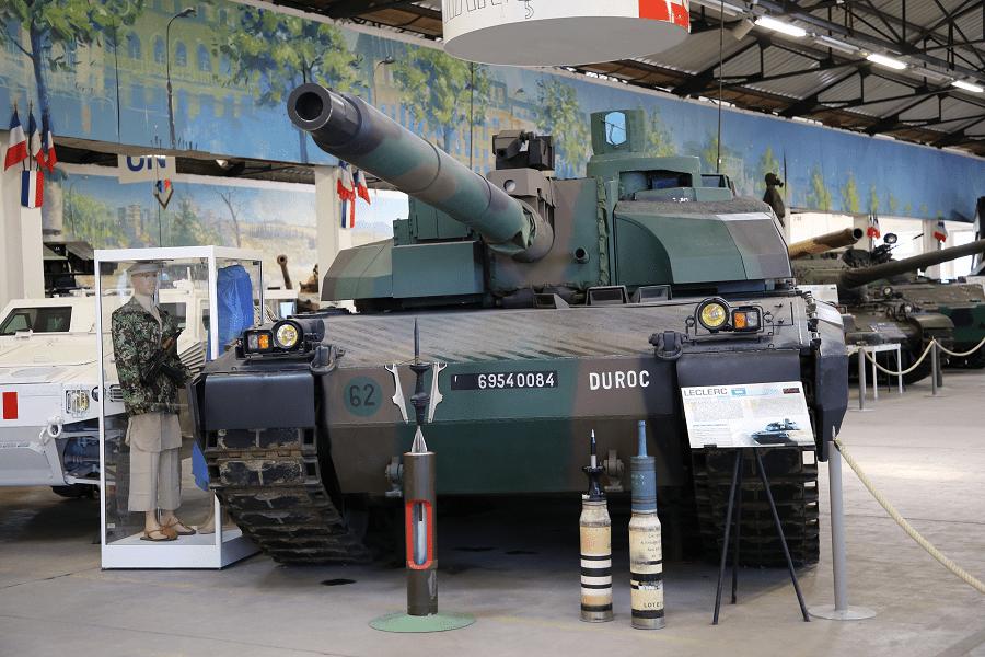 Leclerc - основной боевой танк Франции с 1992 года