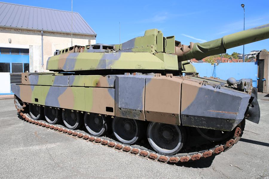 Танк Leclerc - первый прототип