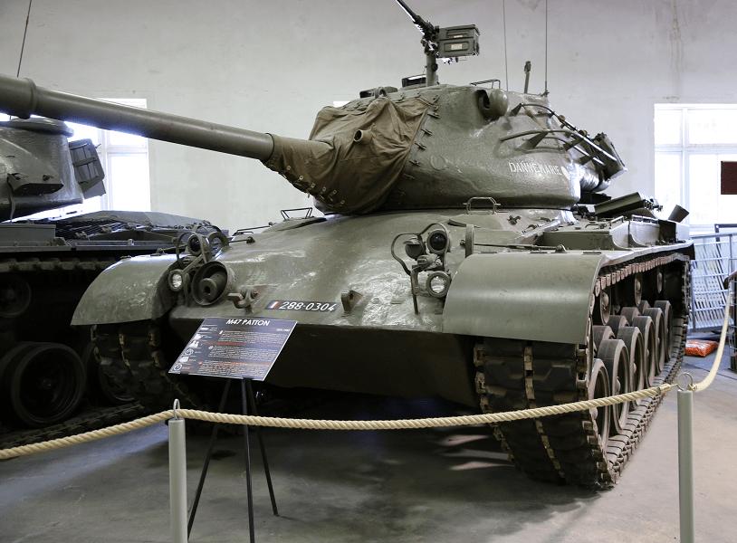 M47 «Паттон II» - американский основной боевой танк (модель 1952 года)