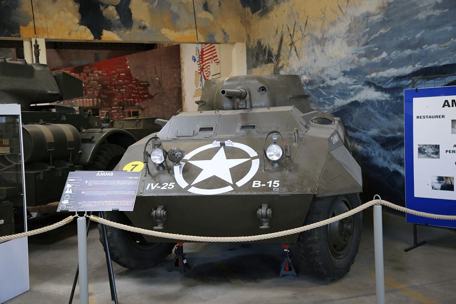 M8 - бронированный автомобиль 6 × 6 Ford Motor Company времен Второй мировой войны