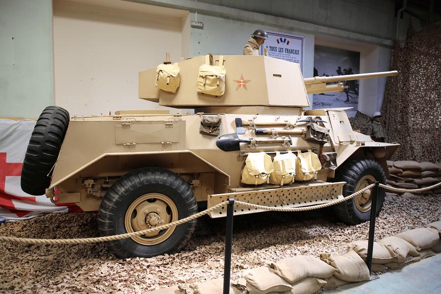 Marmon-Herrington Mk IV - британский бронеавтомобиль времен Второй Мировой войны
