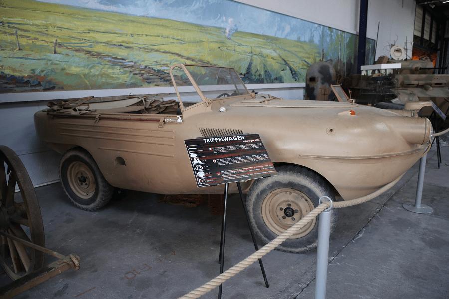 Trippel SG 6 Schwimmwagen - немецкий автомобиль-амфибия Второй Мировой Войны