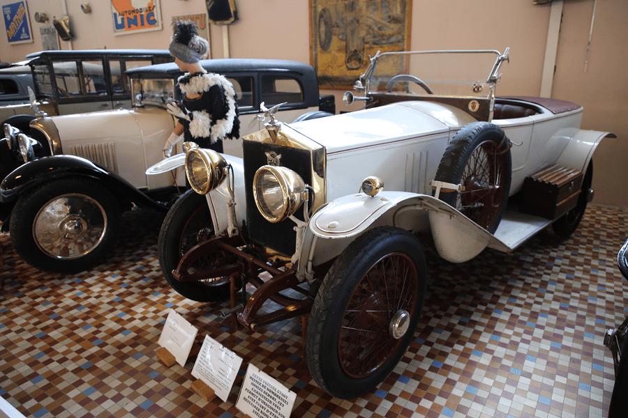 Белый Bignan Sport Type 132 C образца 1919 года