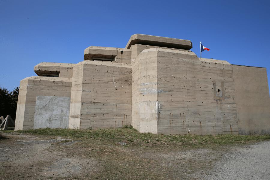 Музей Le Grand Blockhaus в Бац-сюр-Мер, часть бывшего Атлантического вала