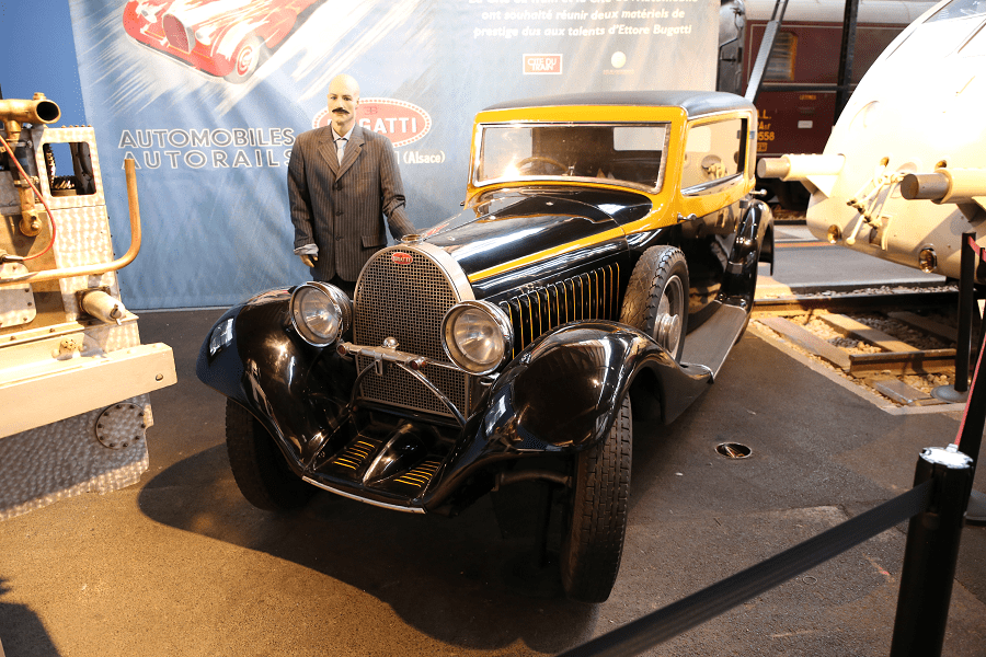 Купе Bugatti Type 49 1931 года производства Oldřich Uhlík