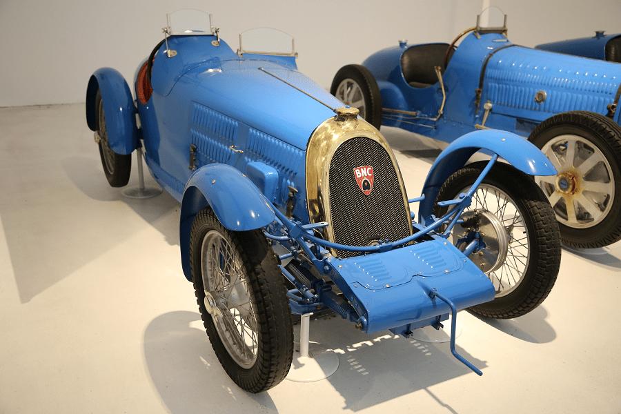 Синий B.N.C. Biplace Sport 527 GS (Франция) образца 1926 года