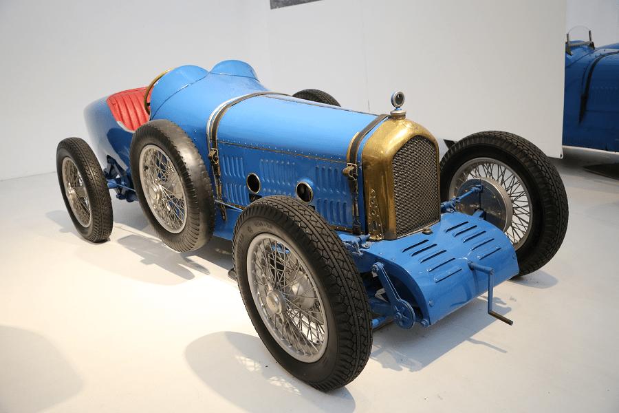 Синий Ballot Biplace Course 3/8 LC (Франция) образца 1921 года