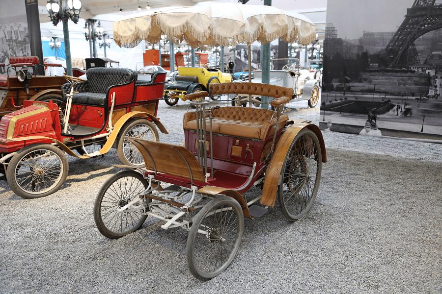 Benz Phaeton Type Velo. Сделано в Германии