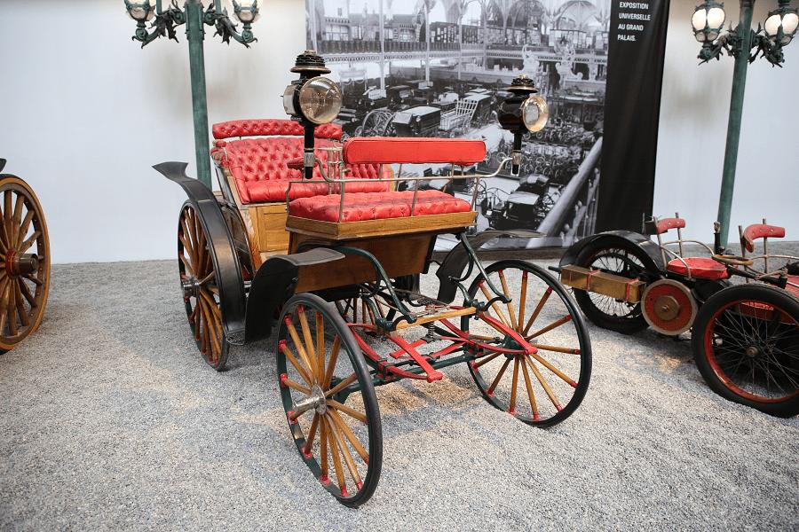 Benz Vis-À-Vis Type Victoria : voiture ancienne