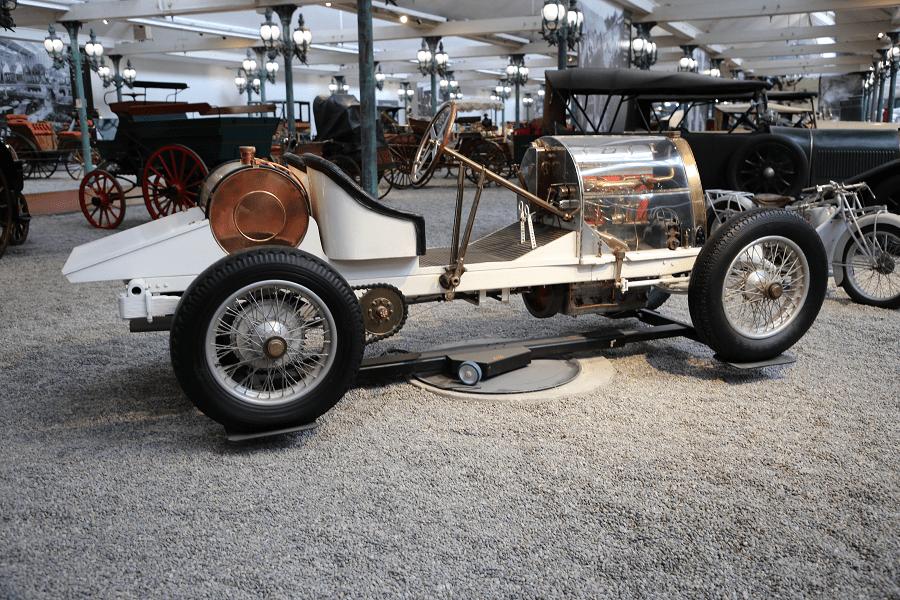 Bugatti Biplace Sport Type 16. Белая версия