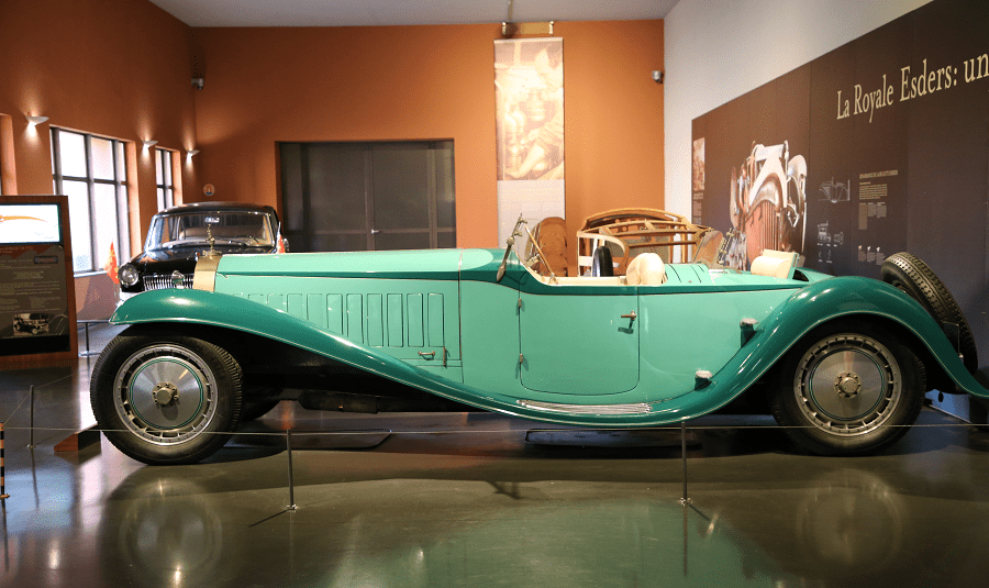 Bugatti Esders Type 41 From 1931 The Most Beautiful Bugatti Royale Ever Made All Pyrenees France Spain Andorra