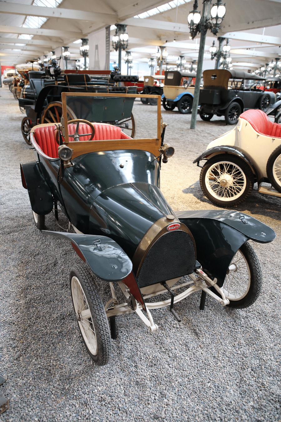 Bugatti Torpedo Type 19 Bébé. Сделано во Франции