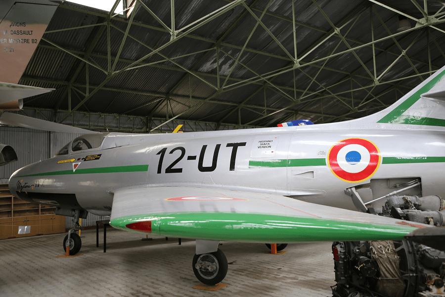 Dassault MD.454 Mystère IV - французский истребитель-бомбардировщик 1950-х годов