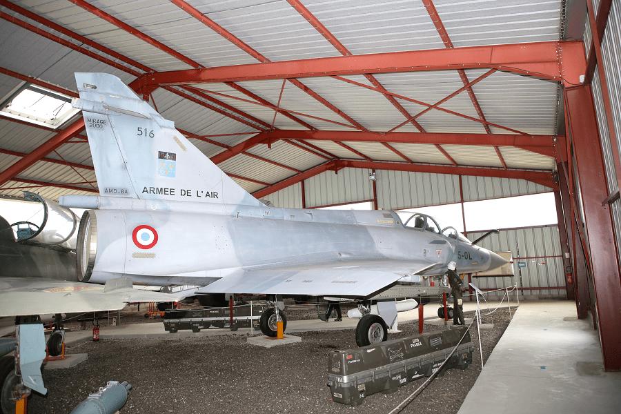 Французский Dassault Mirage 2000B - двухместный учебно-тренировочный вариант