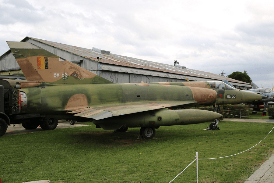 Dassault Mirage 5 BA - это одноместная версия Mirage 5, сделанная для ВВС Бельгии