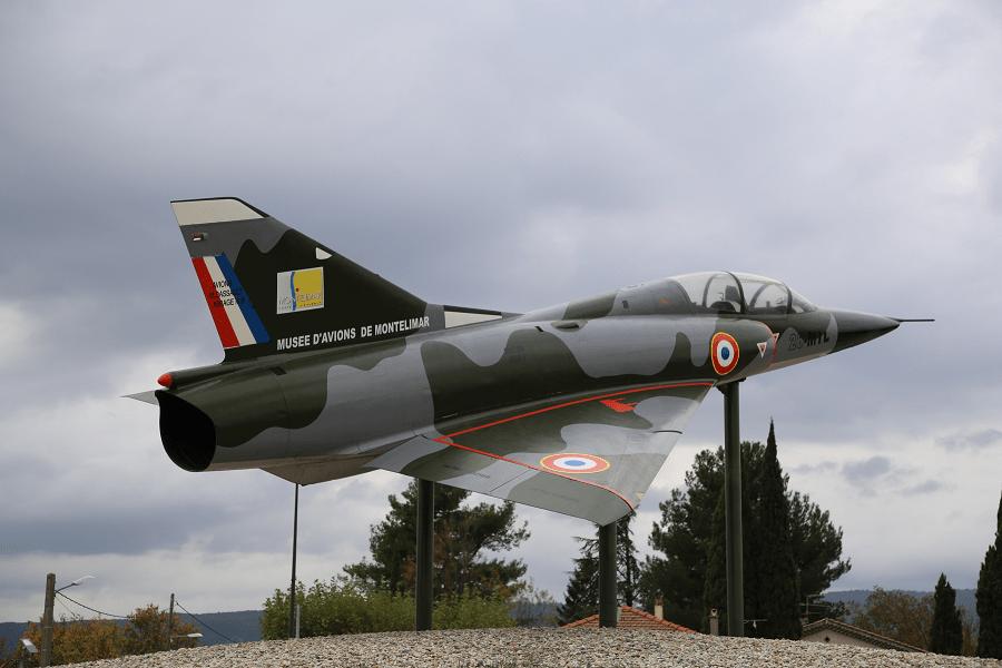 Dassault Mirage IIIB - двухместный учебно-тренировочный самолет