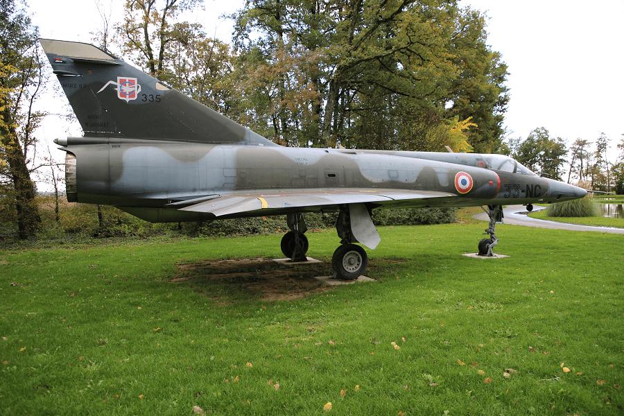 Dassault Mirage IIIR - одноместный всепогодный разведывательный самолет