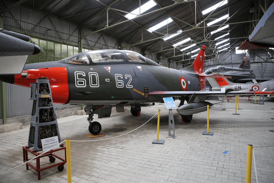 Fiat G.91T/3 - итальянский реактивный истребитель, учебная версия для Люфтваффе
