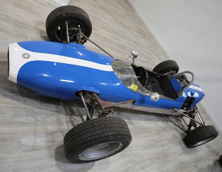 Гоночный Fournier - Mercadier Formula 2 образца 1970 года