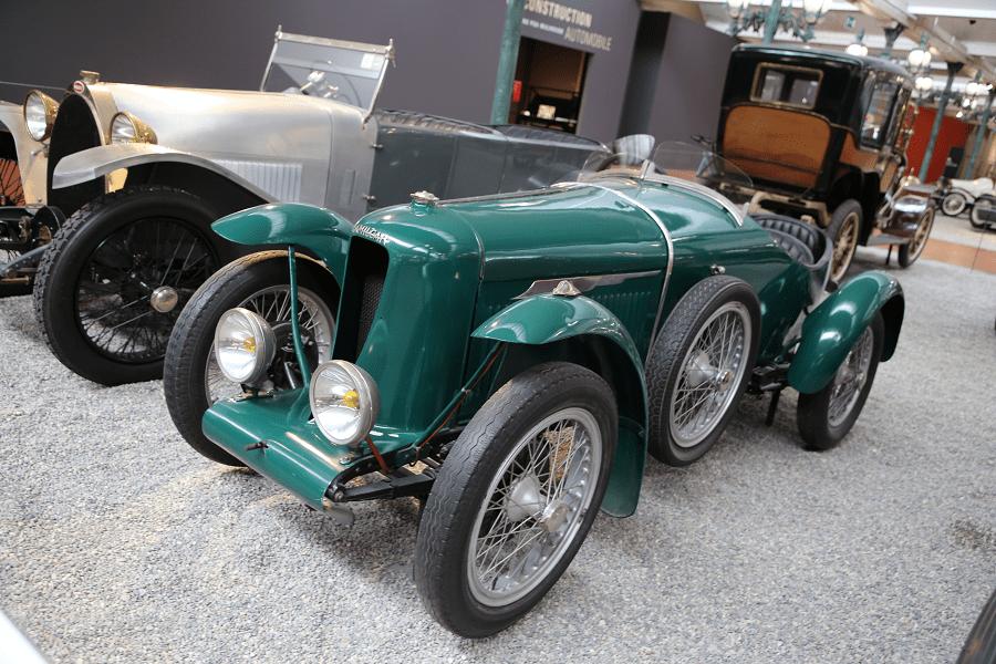 Французский Amilcar Biplace Sport Type GGSS образца 1926 года